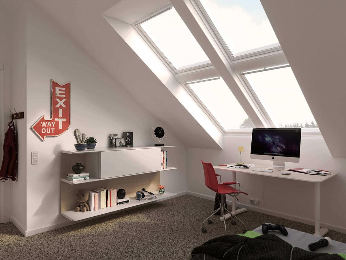 Ролети для мансардних вікон VELUX - комфорт і безпека у Вашому домі